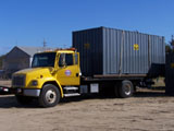 Ground level storage containers Cape Cod Plymouth County